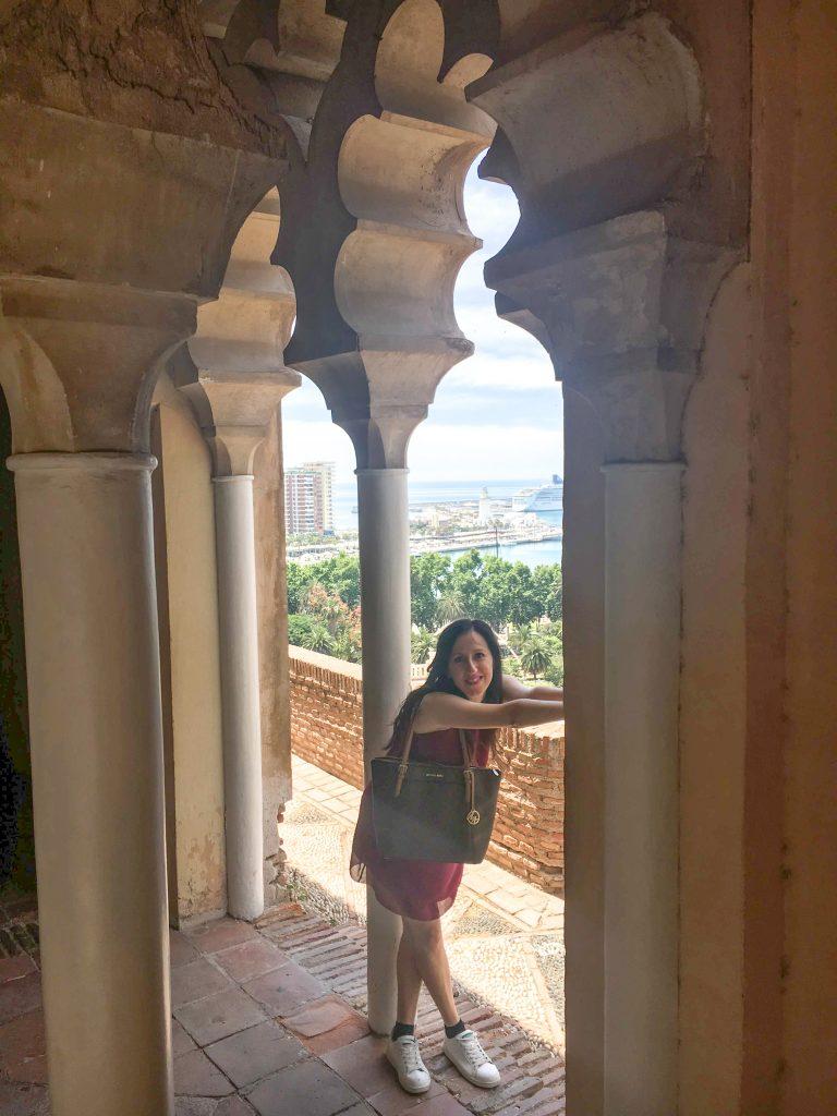 Alcazaba di Malaga Andalusia