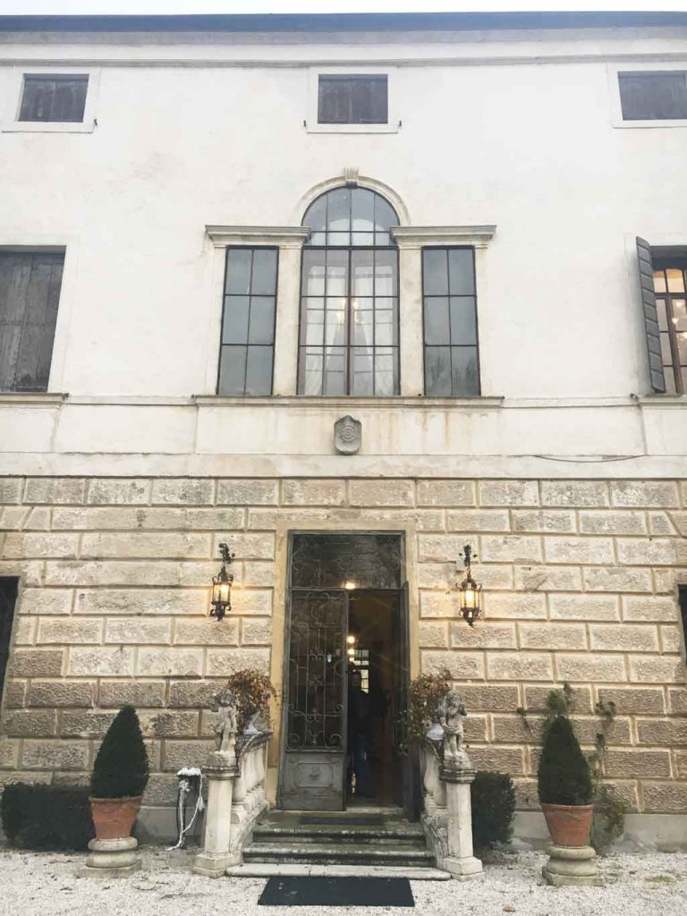 Finestra Palladiana di Villa Molin