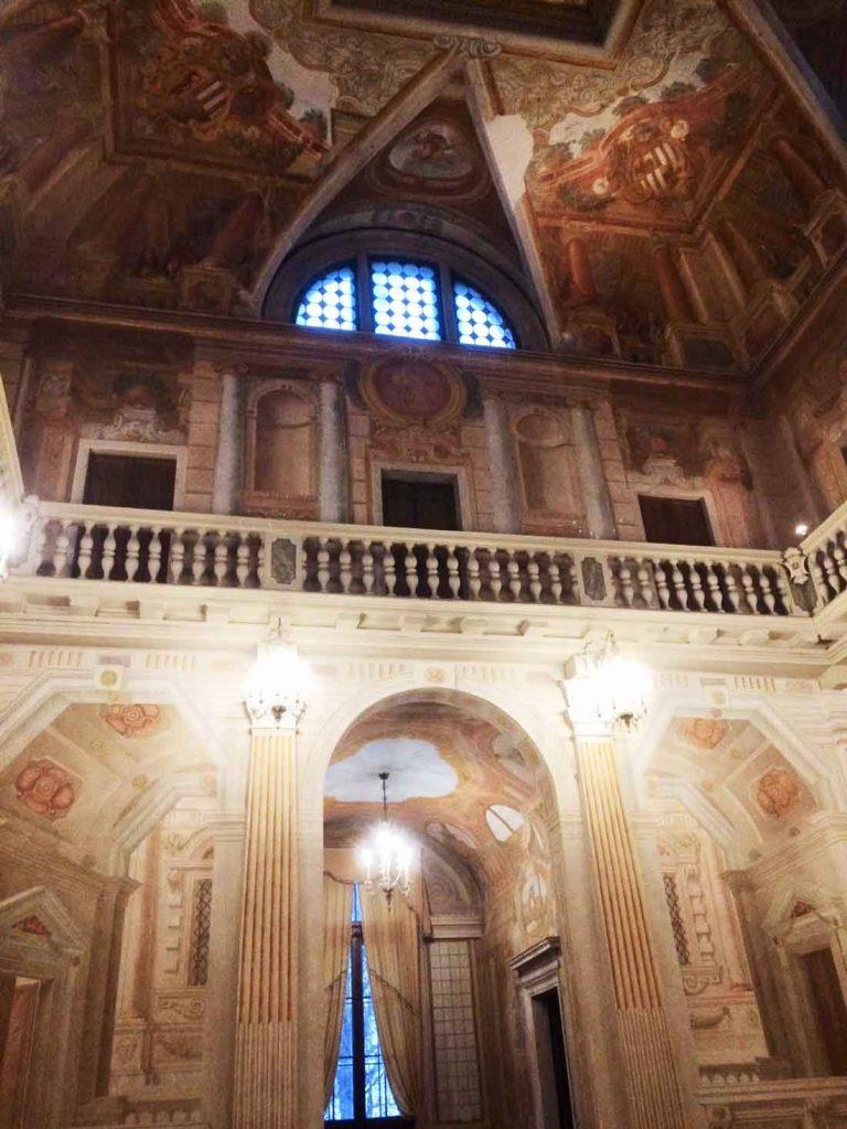 Salone centrale di Villa Molin a Padova