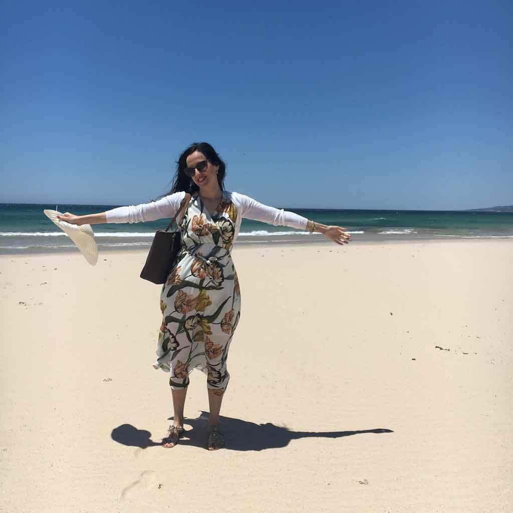 La spiaggia di Tarifa, Spagna